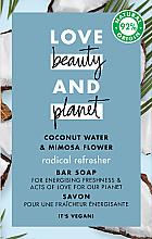 Parfums et Produits cosmétiques Savon Eau de coco et mimosa - Love Beauty&Planet Coconut Water & Mimosa Flower Bar Soap