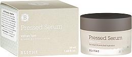 Parfums et Produits cosmétiques Crème-sérum hydratation intense pour visage - Blithe Pressed Serum Velvet Yam