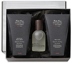 Parfums et Produits cosmétiques Bath House Spanish Fig and Nutmeg - Coffret cadeau (eau de cologne/100ml + gel douche/100ml + baume après-rasage/100ml)