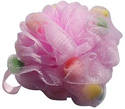 Parfums et Produits cosmétiques Fleur de douche, multicolore - Gabriella Salvete Body Care Mesh Massage Bath Sponge