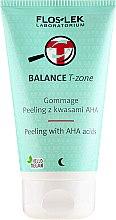 Parfums et Produits cosmétiques Gommage exfoliant aux acides AHA - Floslek Balance T-Zone Gommage Peeling With AHA Acids