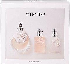 Parfums et Produits cosmétiques Valentino Valentina - Coffret (eau de parfum/80ml + gel douche/50ml + lotion corps/50ml)
