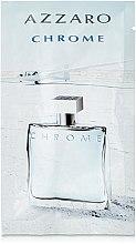 Parfums et Produits cosmétiques Azzaro Chrome - Eau de toilette (échantillon)