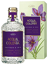 Parfums et Produits cosmétiques Maurer & Wirtz 4711 Acqua Colonia Saffron & Iris - Eau de Cologne