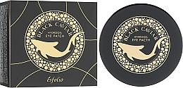 Parfums et Produits cosmétiques Patchs hydrogel à l'extrait de caviar contour des yeux - Esfolio Black Caviar Hydrogel Eye Patch