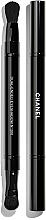 Parfums et Produits cosmétiques Pinceau fards à paupières, double embout - Chanel Retractable Dual-Ended Eyeshadow Brush №200