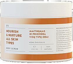Parfums et Produits cosmétiques Gommage nourrissant pour corps - You & Oil Nourish & Nuture