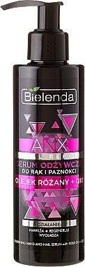 Sérum hydratant et nourrissant à l'huile de rose, coenzyme Q10 et beurre de karité pour mains et ongles - ANX Total Repair Serum Anti-Age