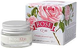 Parfums et Produits cosmétiques Crème à la rose bulgare et coenzyme Q10 pour contour des yeux - Bulgarian Rose Rose Q10 Cream Araund Eyes