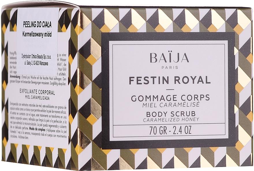 Gommage au miel caramélisé pour corps - Baija Festin Royal Body Scrub — Photo N1