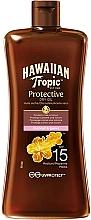 Parfums et Produits cosmétiques Huile sèche au beurre de karité pour corps - Hawaiian Tropic Protective Oil SPF 15