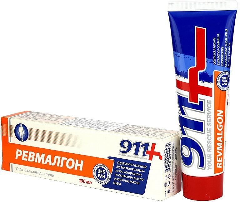 Gel-baume à l'huile d'eucalyptus pour corps - 911