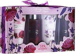 Parfums et Produits cosmétiques Spa Moments Wild Rose & Lavanders - Set (gel douche/2x100m + lotion corps/2x60ml)