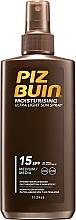 Parfums et Produits cosmétiques Spray solaire SPF 15 - Piz Buin Moisturising Spray