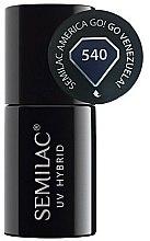 Parfums et Produits cosmétiques Vernis semi-permanent - Semilac UV Hybrid America Go!
