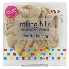 Parfums et Produits cosmétiques Élastique à cheveux, beige - Rolling Hills Scrunchie Hair Rings Beige