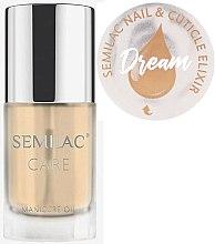 Parfums et Produits cosmétiques Huile-élixir à saveur d'agrumes pour ongles et cuticules - Semilac Care Nail & Cuticle Elixir Dream