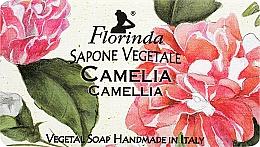 Parfums et Produits cosmétiques Savon naturel artisanal, Camélia - Florinda Sapone Vegetale Camellia