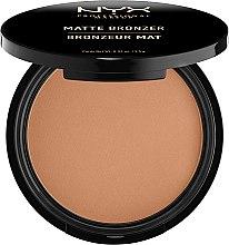 Parfums et Produits cosmétiques Poudre bronzante mate pour visage - NYX Professional Makeup Matte Bronzer