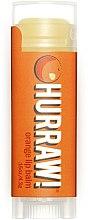 Parfums et Produits cosmétiques Baume à lèvres à l'huile d'orange - Hurraw! Orange Lip Balm