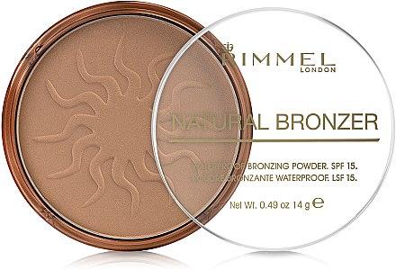 Poudre bronzante waterproof pour visage - Rimmel Natural Bronzer Powder