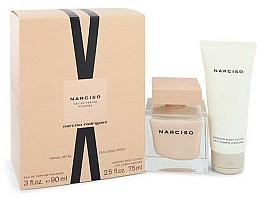 Parfums et Produits cosmétiques Narciso Rodriguez Narciso Poudree - Coffret cadeau (eau de parfum/90ml + lotion corps/75 ml)