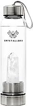 Parfums et Produits cosmétiques Gourde d'eau avec quartz blanc, 500ml - Crystallove