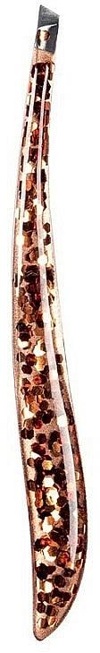 Pince à épiler biseautée Glossy, 76022 - Top Choice