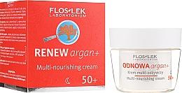 Parfums et Produits cosmétiques Crème de nuit à l'huile d'argan - Floslek Multi-nourishing cream 50+