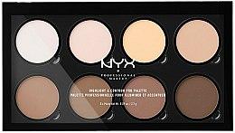 Parfums et Produits cosmétiques Palette professionnelle pour illuminer et accentuer le visage - NYX Professional Makeup Highlight & Contour Pro Palette