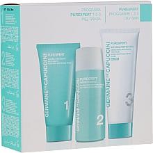 Parfums et Produits cosmétiques Coffret cadeau - Germaine de Capuccini Purexpert Natural Perfect 1-2-3 Oily (f/foam/30ml + fluid/50ml + f/cr/50ml)