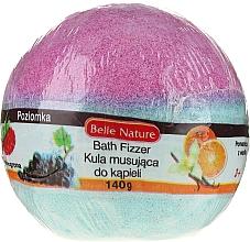 Parfums et Produits cosmétiques Bombe de bain effervescente, violet-bleu - Belle Nature