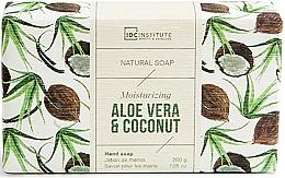 Parfums et Produits cosmétiques Savon - IDC Institute Moisturizing Hand Natural Soap Aloe Vera & Coconut