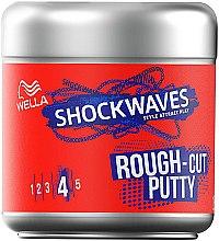 Parfums et Produits cosmétiques Pâte coiffante, fixation extra forte - Wella Shockwaves Rough-Cut Putty