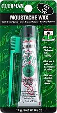 Parfums et Produits cosmétiques Cire à moustache avec brosse - Clubman Pinaud Moustache Wax