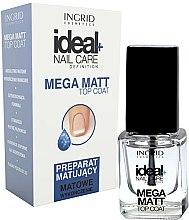 Parfums et Produits cosmétiques Top coat mat - Ingrid Cosmetics Ideal+ Nail Care Definition Mega Matt Top Coat