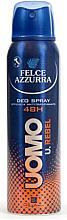 Parfums et Produits cosmétiques Déodorant spray anti-transpirant - Felce Azzurra Deo Rebel