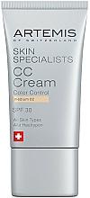 Parfums et Produits cosmétiques CC crème - Artemis of Switzerland Skin Specialists CC Cream