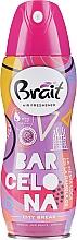 Parfums et Produits cosmétiques Désodorisant aérosol City Break -Barcelona - Brait Dry Air