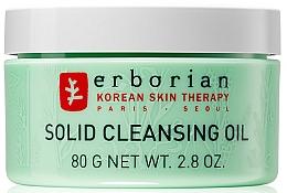 Parfums et Produits cosmétiques Huile démaquillante à l'extrait de thé vert - Erborian Solid Cleansing Oil