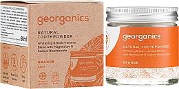 Parfums et Produits cosmétiques Dentifrice en poudre naturel mandarine rouge - Georganics Red Mandarin Natural Toothpowder