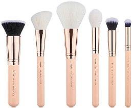 Parfums et Produits cosmétiques Kit pinceaux maquillage, T458, 6 pcs. - Jessup