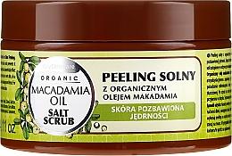 Parfums et Produits cosmétiques Gommage au sel à l'huile de macadamia - GlySkinCare Macadamia Oil Salt Scrub