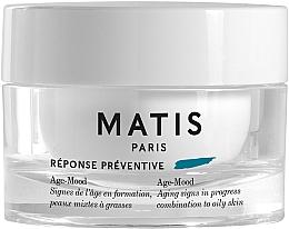 Parfums et Produits cosmétiques Crème à l'acide hyaluronique pour visage pour peaux mixtes à grasses - Matis Reponse Preventive Age-Mood