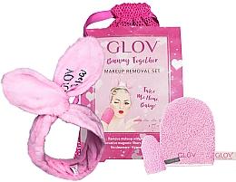Parfums et Produits cosmétiques Glov Spa Bunny Together - Set (gant de bain + mini gant de bain + bandeau + trousse)
