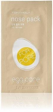 Patchs anti-points noirs pour le nez - Tony Moly Egg Pore Nose Pack
