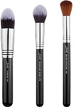 Parfums et Produits cosmétiques Kit pinceaux de maquillage, T309, 3pcs - Jessup