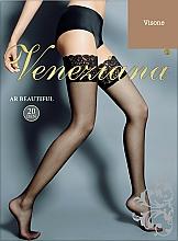 Parfums et Produits cosmétiques Bas autofixants pour femme, Ar Beautiful, 20 Den, visone - Veneziana