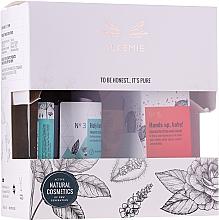 Parfums et Produits cosmétiques Alkemie - Coffret (gel pour visage et corps/250ml + crème pour mains/50ml)