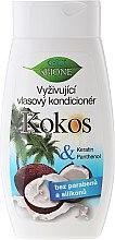 Parfums et Produits cosmétiques Après-shampooing à la noix de coco, kératine et panthénol - Bione Cosmetics Coconut Nourishing Conditioner